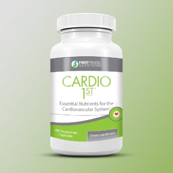 FirstFitness Nutrition Cardio 1st - 180 Capsules dietary supplement