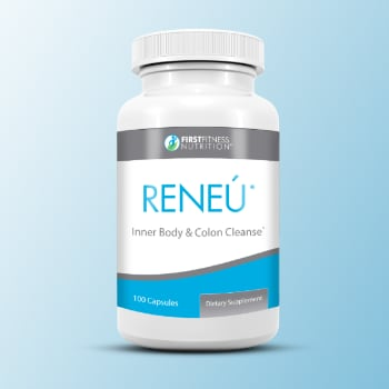 First Fitness Reneú 100 capsule dietary supplement
