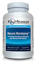 NuMedica Neuro Harmony - 60c professional-grade supplement