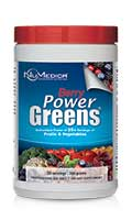 NuMedica Power Greens Berry - 30 svgs professional-grade supplement