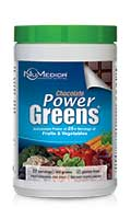 NuMedica Power Greens Chocolate - 30 svgs professional-grade supplement