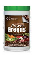 NuMedica Power Greens Espresso - 30 svgs professional-grade supplement