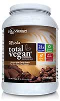 NuMedica Total Vegan Protein Mocha - 14 svgs professional-grade supplement