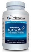 NuMedica Functional Female - 60 Capsule professional-grade supplement