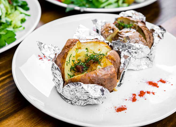 Baked Potato Bar recipe