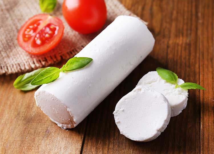 Herb Wrapped Chevre recipe