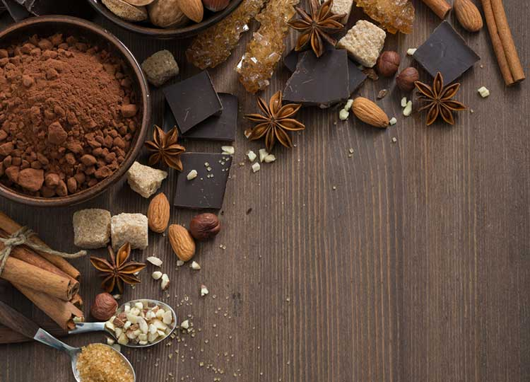 Chocolate Almond Delightful  recipe image