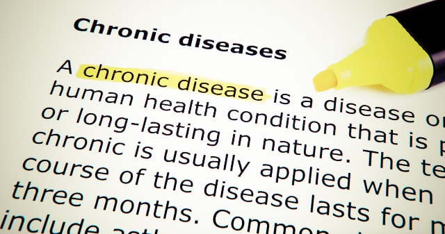 chronic diseases are long-lasting in nature, more than 1 year requiring on-going treatment