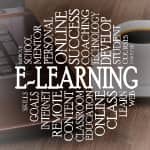e-learning depicting methods and options for getting education on the internet