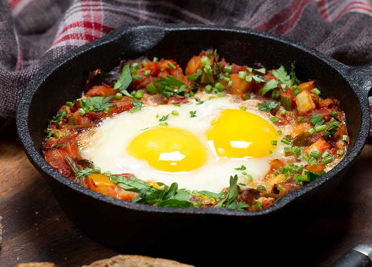 Eggs Ole recipe image