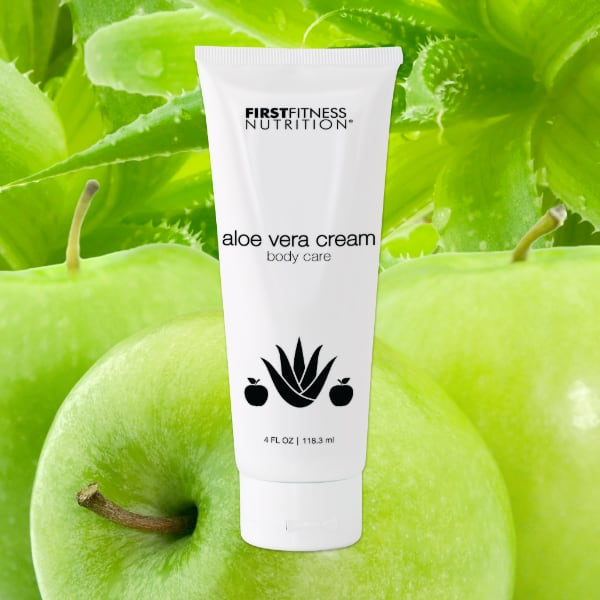 FirstFitness Nutrition Aloe Vera Cream - All Skin Types - 4 oz skin care product
