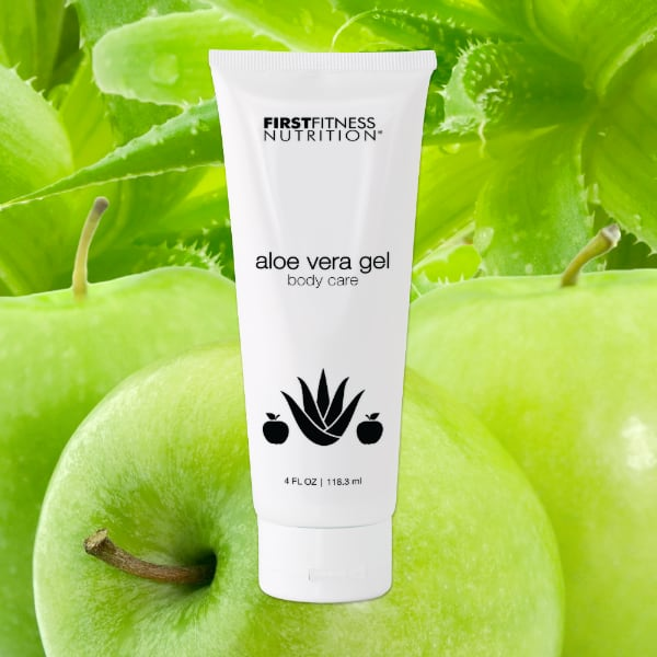 FirstFitness Nutrition Aloe Vera Gel - All Skin Types - 4 oz skin care product