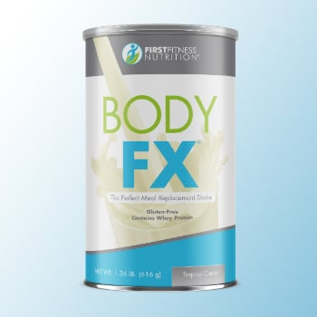 FirstFitness Nutrition Body FX Tropical Créme 14 servings dietary supplements