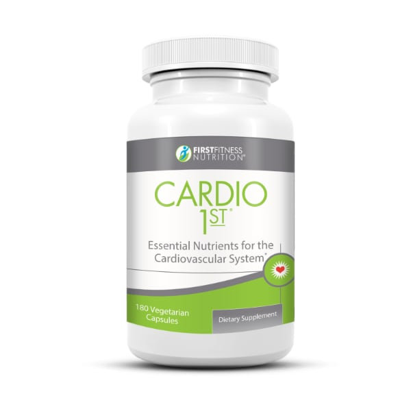 First Fitness Nutrition Cardio 1st - 180 Capsules dietary supplement