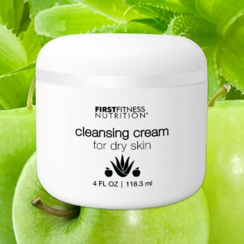 FirstFitness Nutrition Cleansing Cream Dry Skin - 4 oz skin care product