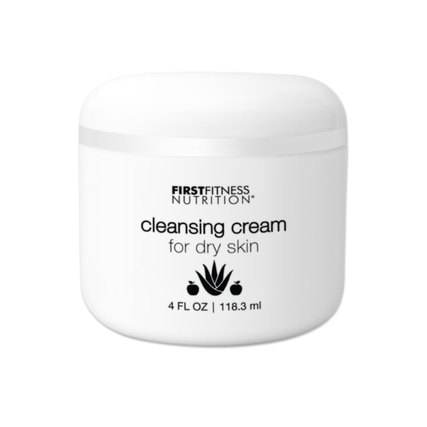 First Fitness Nutrition Cleansing Cream Dry Skin - 4 oz skin care product