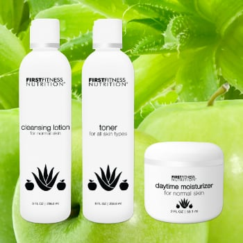 FirstFitness Nutrition Essential Trio - Normal Skin skin care product