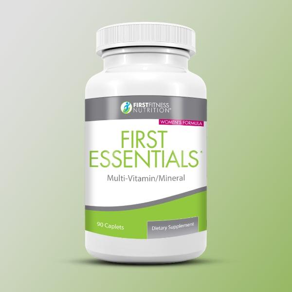 FirstFitness Nutrition First Essentials for Women - 90 Caplets dietary supplement