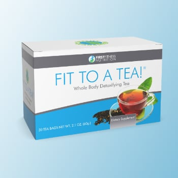 FirstFitness Nutrition Fit To A Tea! - 30 Tea Bags dietary supplement