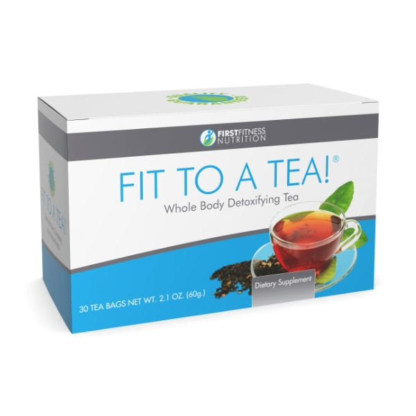 First Fitness Nutrition Fit To A Tea! - 30 Tea Bags dietary supplement