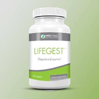 FirstFitness Nutrition LifeGest - 90 Tablets dietary supplement