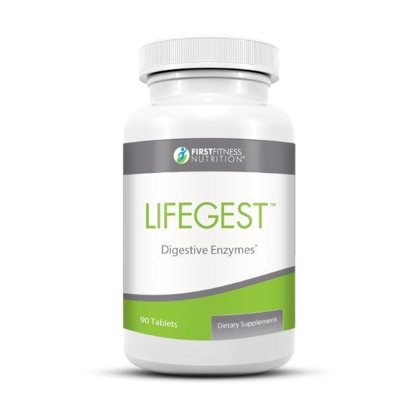 First Fitness Nutrition LifeGest - 90 Tablets dietary supplement
