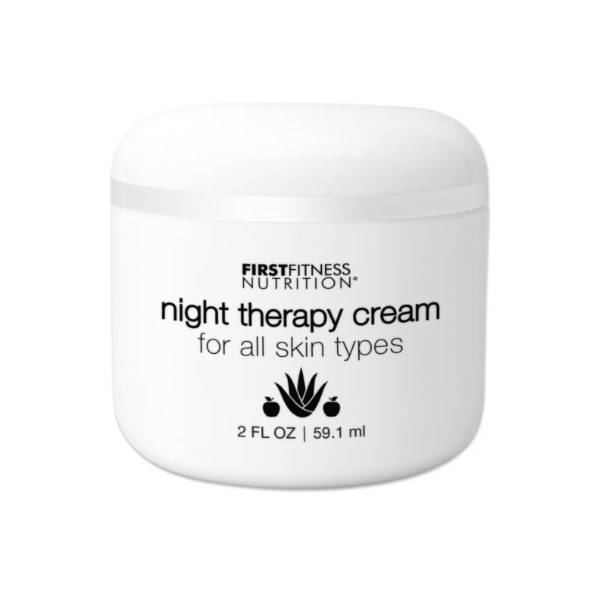 First Fitness Nutrition Night Therapy Cream - All Skin Types - 2 fl oz skin and body care product