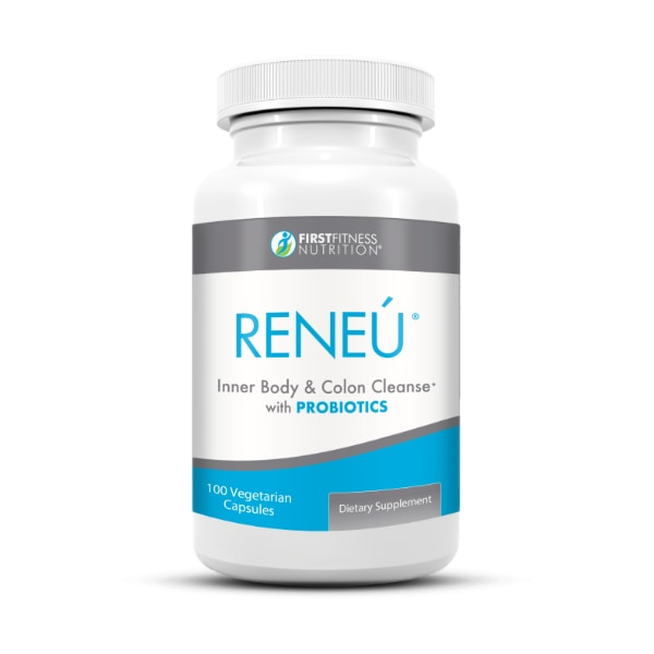 First Fitness Nutrition Reneú 100 vegetarian capsule dietary supplement