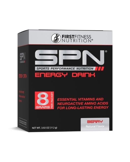 First Fitness SPN Energy Drink - 14 packets dietary supplements