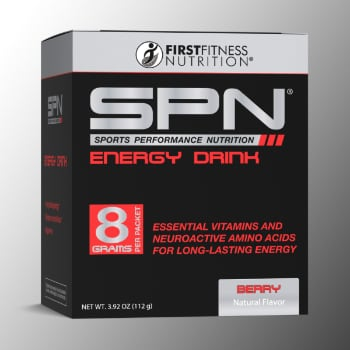 First Fitness Nutrition SPN Energy Drink - 14 packets dietary supplements