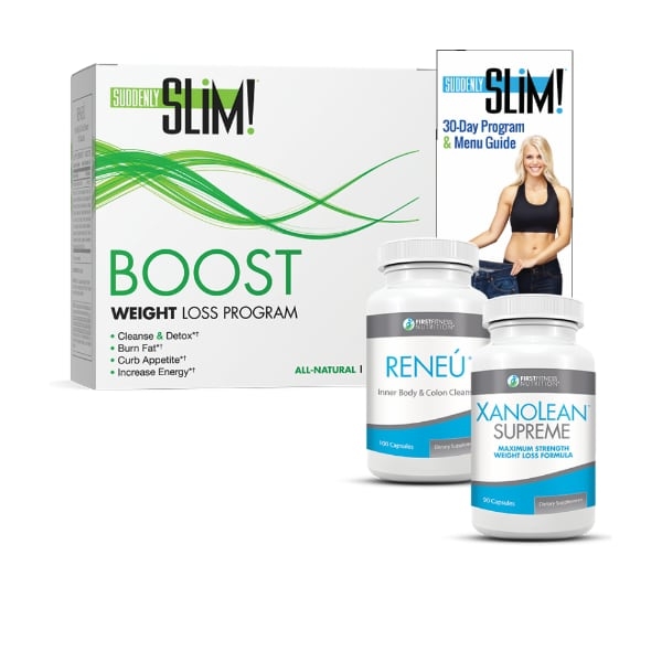 First Fitness Nutrition Boost Weight Loss Program - 30 day dietary supplement kit