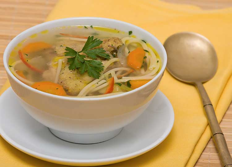 Gluten Free Chicken Noodle Soup recipe