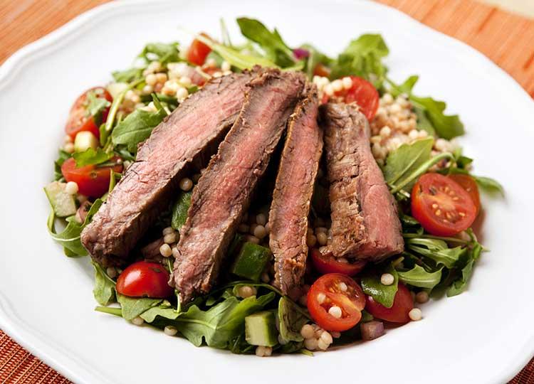 Grilled Steak Salad recipe image