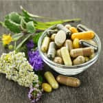 herbal medicine and herbs used in supplements