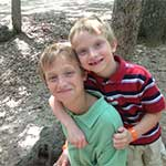 Isaac and Noah Wright at Summer Camp