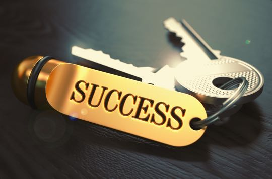 golden keys to success