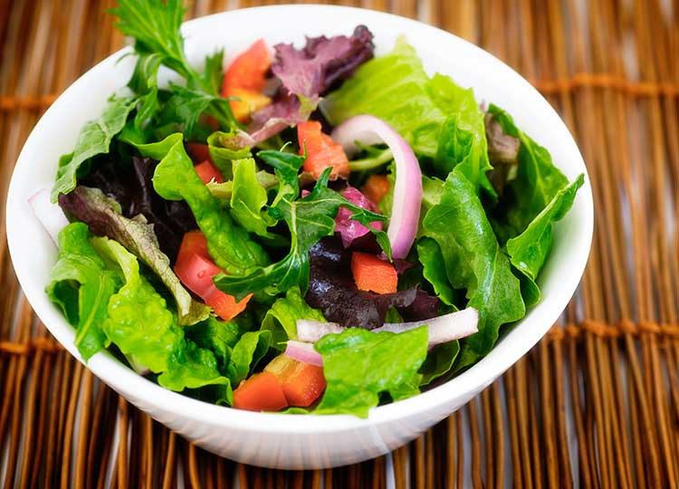 Leftover Greens Salad recipe image