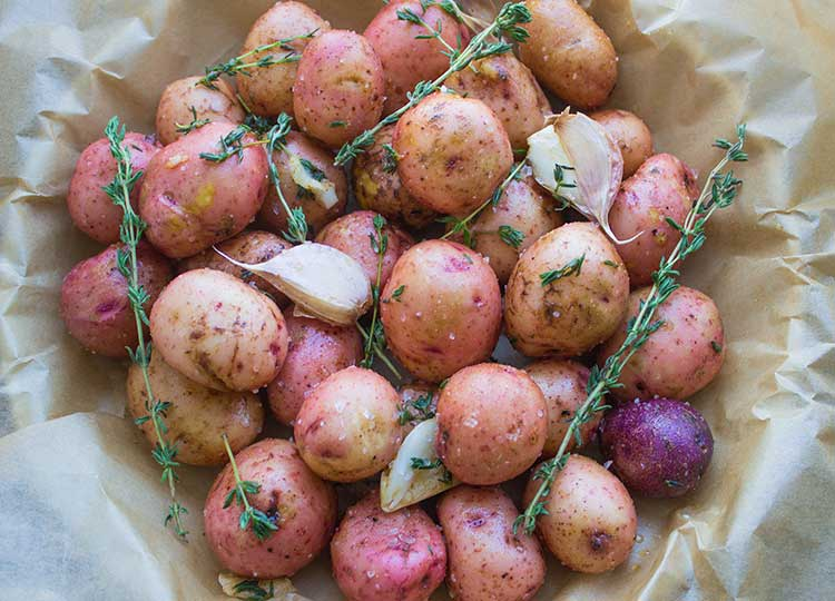 Lemon-chive Potatoes recipe