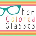 logo from Mom Colored Glasses online magazine