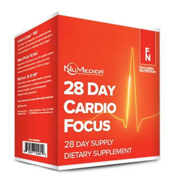 NuMedica 28 Day Cardio Focus Nutrition Kit - Professional Dietary Supplement