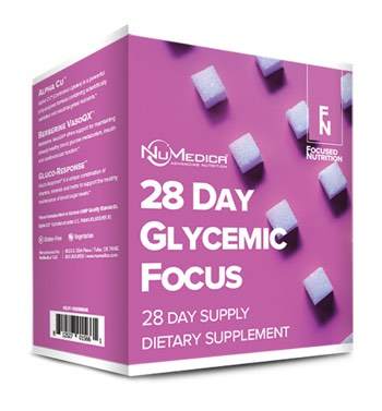 NuMedica 28 Day Glycemic Focus Nutrition Kit - Professional Dietary Supplement