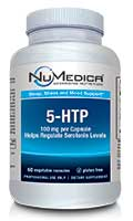 NuMedica NuMedica 5-HTP 100 mg 60 capsule professional-grade supplement