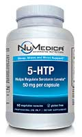 NuMedica 5-HTP 50 mg - 60c professional-grade supplement
