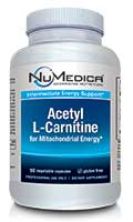 NuMedica Acetyl-L-Carnitine - 90c professional-grade supplement