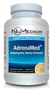 NuMedica AdrenaMed - 60c professional-grade supplement