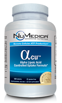 NuMedica Alpha Lipoic Acid Controlled Uptake - 120t pharmaceutical-grade supplement