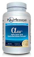 NuMedica Alpha Lipoic Acid Controlled Uptake - 120t professional-grade supplement