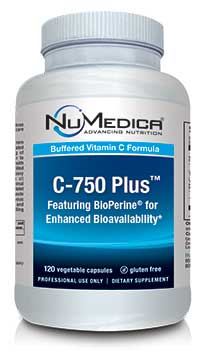 NuMedica C-750 Plus - 120c professional-grade supplement