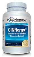 NuMedica CINNergy - 120c professional-grade supplement