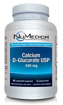 NuMedica Calcium D-Glucarate USP - 90c professional-grade supplement